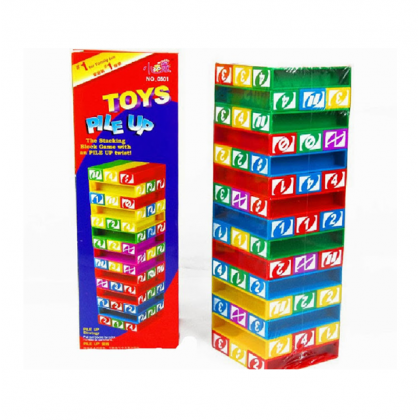 UNO JENGA STACKO STRATEGY TOYS AND GAME