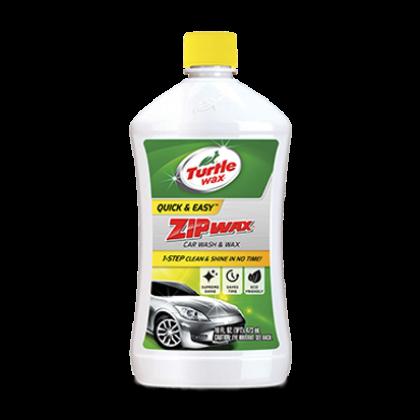 (ORIGINAL) TURTLE WAX QUICK & EASY ZIP WAX CAR WASH & WAX 473ML