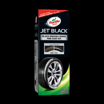 (ORIGINAL) TURTLE WAX® JET BLACK™ BLACK ENDURA-SHINE TIRE COAT KIT
