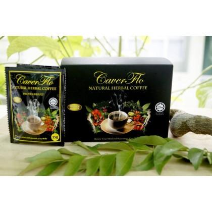 CAVERFLO Natural Herbal Coffee (Kopi Jantan)