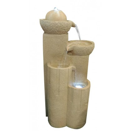 ENGLISH FENG SHUI HOME OUTDOOR WATER FOUNTAIN - LX 16827