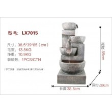 ENGLISH WATERFALL FENG SHUI ROCK WATER FOUNTAIN - 7015