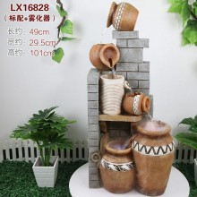 WATER FOUNTAIN - LX16828 FENG SHUI WATER FEATURE HOME DECO GIFT