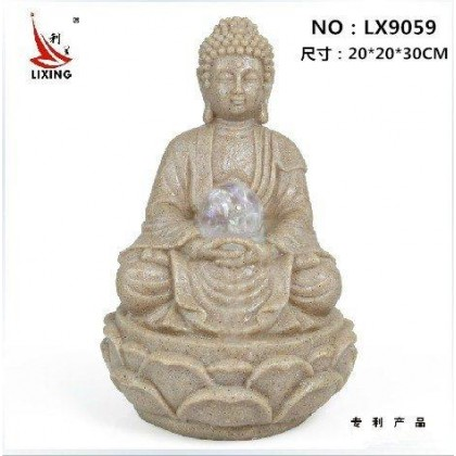 CHINESE FENG SHUI BUDDHA WATER FOUNTAIN LX9059