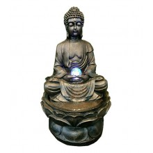 BUDDHA WATER FOUNTAIN LX9026 FENG  SHUI WATER FEATURE HOME DECO GIFT
