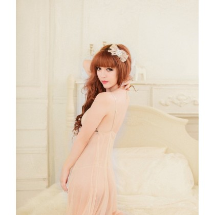 Long Gown Sexy Babydoll Lingerie YW580