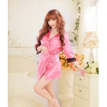 Sexy Pink Romance Babydoll Robes K0023PK