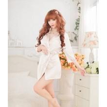 Sexy White Romance Babydoll Robes K0023WH