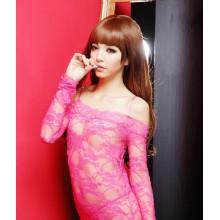 Pink Sexy Bodystocking YW655