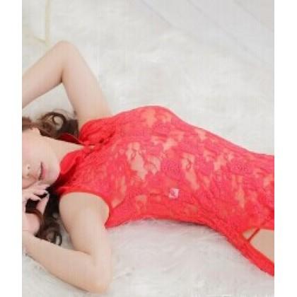 Red Ruby Sexy Cheongsam Babydoll YW722