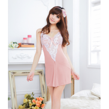 SEXY FREE SIZE EMBROIDERY BABYDOLL YW850