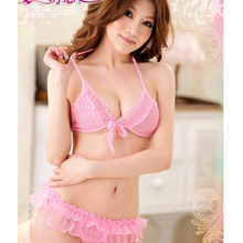 Sexy Free Size Pink Bikini YW789