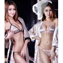 Sexy Free Size Robe with Bikini YW790