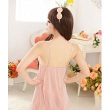 Sexy Korea Milky Babydoll Lingerie Dress YW744