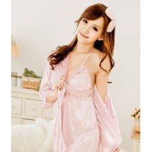 Sexy Babydoll Dress + Robes YW437 (3PCS)