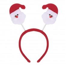 FASHIONABLE CHRISTMAS GIFT CARTOON ELASTIC HEADWEAR DOUBLE HEAD (OLD MAN) Old Man