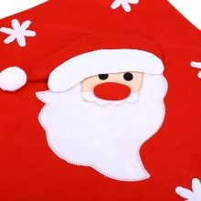 SANTA CLAUS SNOWMAN CHRISTMAS HAT CHAIR COVER (SANTA) Santa