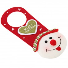 CHRISTMAS DOOR HANGING ORNAMENT PARTY DECORATION PENDANT (SNOWMAN) Snowman