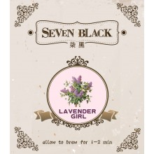 SEVEN BLACK Organic Premium Flower Tea - Lavender Girl