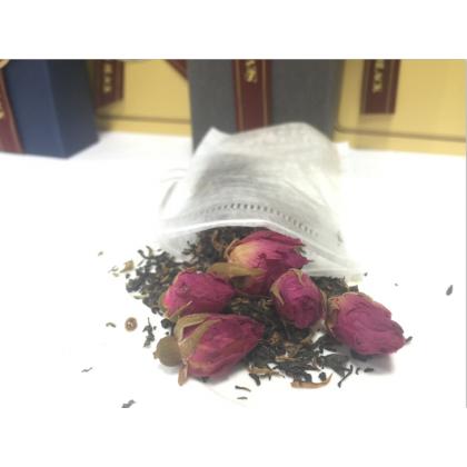 SEVEN BLACK Organic Premium Flower Tea - Rose Lady