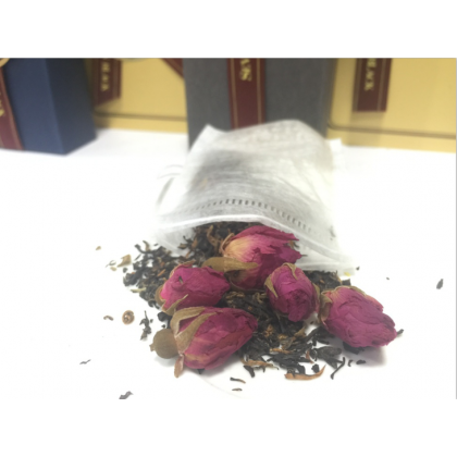 SEVEN BLACK Organic Premium Flower Tea - Rose Lady