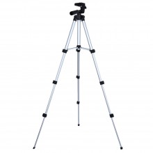 ET - 3110 UNIVERSAL PORTABLE DIGITAL CAMERA CAMCORDER TRIPOD (SILVER AND BLACK) Silver And Black