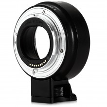 VILTROX EF - EOS M AF AUTO FOCUS MOUNT ADAPTER FOR CANON EF-M CAMERA TO EF LENSES WITH TRIPOD Black