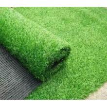 25MM ARTIFICIAL GRASS, FAKE GRASS, CARPET (1M X 1M) (ALL GREEN)
