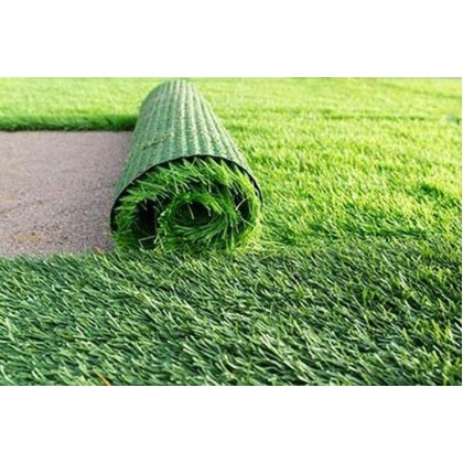 35MM ARTIFICIAL, FAKE, SYNTHETIC GRASS ( RM 5.00  1FT x 1FT ) (ALL GREEN)