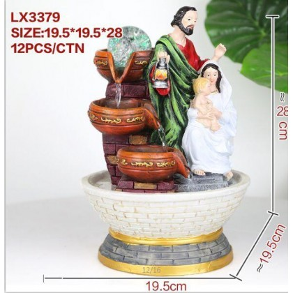 CHRISTIAN FENG SHUI TABLE TOP WATER FOUNTAIN LX3379 OFFICE HOME DECO