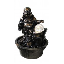 FENG SHUI CHINESE TABLE TOP WATER FOUNTAIN - LAUGHING BUDDHA 8088