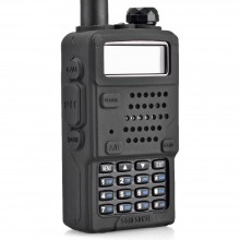 Silicon Case/Rubber Cover For TYT Baofeng UV5R/UV5RA Walkie Talkie (BLACK)