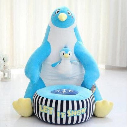 Cute Baby Cartoon Chair Cushion Home Decoration - Penguin