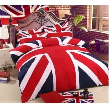 5 in 1 Set Quality 800TC England London Bedding Bed Sheet Queen King Size