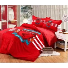 Football Club 6 in 1 Set Quality 800TC LIVERPOOL Bedding Queen King Size