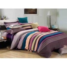 5 in 1 Set Quality 800TC Colorful Bedding Bed Sheet Queen King Size