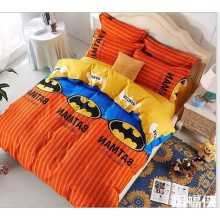 5 in 1 Set Quality 800TC Batman Bedding Bed Sheet Queen King Size