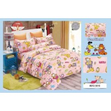 4 in 1 Set Quality 800TC Garfield Bedding Bed Sheet Super Single Size