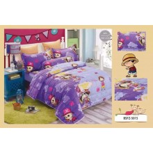5 in 1 Set High Quality 800TC One Piece Bedding Bed Sheet Super Single Size
