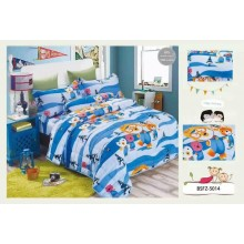 5 in 1 Set High Quality 800TC Pororo Bedding Bed Sheet Super Single Size