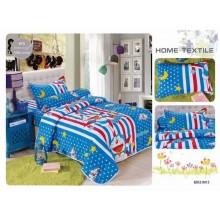 5 in 1 Set High Quality 800TC Doraemon Bedding Bed Sheet Super Single Size