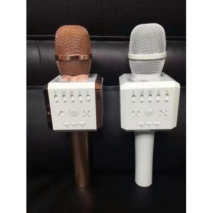 AQURA K9 Portable Karaoke Bluetooth Microphone Speaker Mic Voice Change