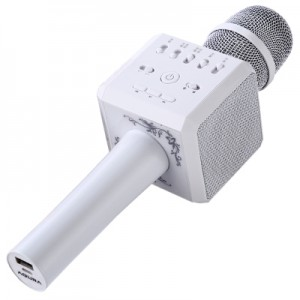 AQURA K9 Portable Karaoke Bluetooth Microphone Speaker Mic Voice Change
