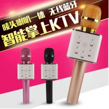 Q7 Q9 KTV Portable Karaoke Bluetooth Microphone Speaker Mic Wireless KTV