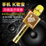 JY50 两架一起合唱 KTV Portable Karaoke Bluetooth Microphone Speaker Mic