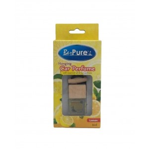 BE PURE Hanging Car Perfume Air Freshener (Twin Pack) Lemon/Lavender/Vanilla