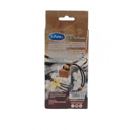 BE PURE Hanging Car Perfume Air Freshener (Twin Pack) Lemon/Lavender/Vanilla