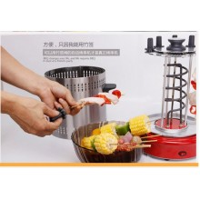 Electric automatic Rotating Kebab & BBQ Grill (10 Skewers )BIG