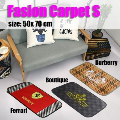 Non-Slip Fashion Carpet S Burberry 70cm x 50 cm / bed room /living room/toilet