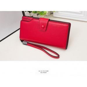 korean fashion clip wallet (Blue)